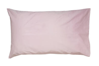 Gorgi Pink 100% Cotton Drill Standard Pillowcase