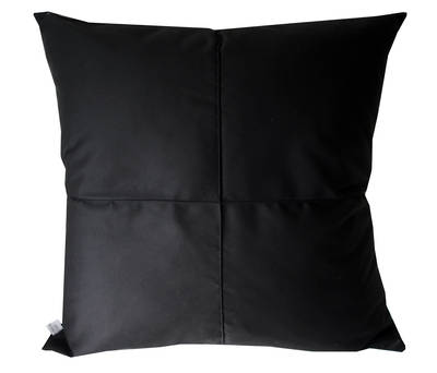 Gorgi Black Cotton Drill Euro Cushion Cover