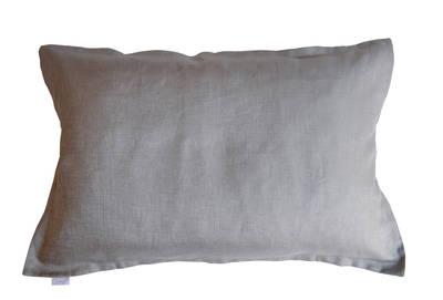 Pair of Gorgi Smoke Grey Linen Oxford Pillowcases
