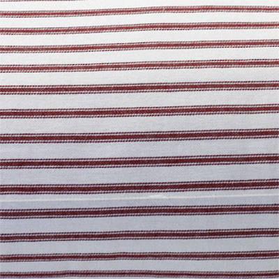 Madder Red Ticking Stripe