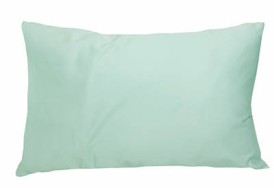 Gorgi Duck Egg Mint 100% Cotton Drill Standard Pillowcase