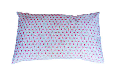 Gorgi Colour Me Pretty Blue Vintage Floral Print Pillowcase
