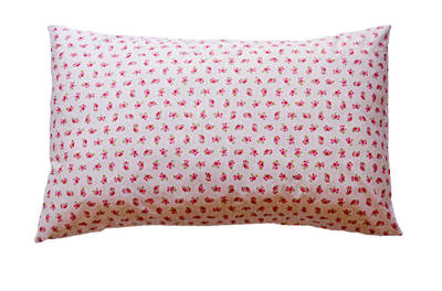 Gorgi Colour Me Pretty Pink Vintage Floral Print Pillowcase