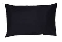 Gorgi Dark Navy 100% Cotton Drill Standard Pillowcase