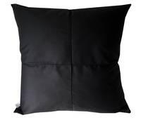 Gorgi Black Cotton Drill Euro Cushion Cover