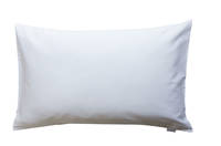 Gorgi White 100% Cotton Drill Standard Pillowcase