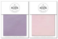 Tailor Made by Gorgi Duvet Cover: Lilac/Pink