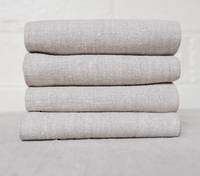 100% Linen Set of Four Table Napkins