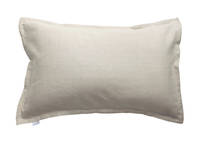 Pair of 100% Linen Oxford Pillowcases in Natural Sand