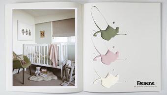 Decorators Notebook with Resene - Nursery
