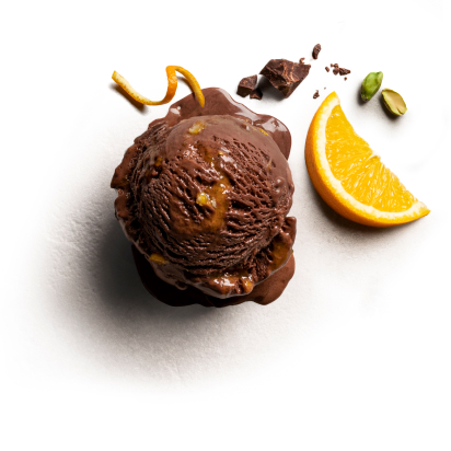 Rich Chocolate Orange with Pistachio