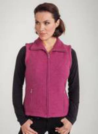 Ladies' Collar and Zip Gilet