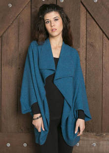 Ladies' Moss Stitch Shrug