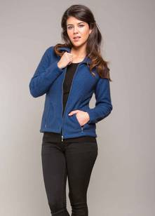 Ladies' Shaped Zip Jacket