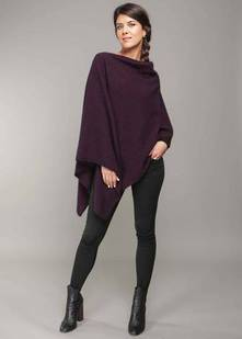 Ladies' PMS Versatile Two Way Poncho