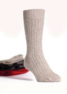 PMS Plain Sole Socks