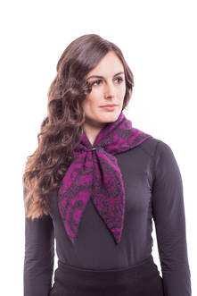 Ladies' Paisley Neck Scarf