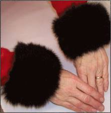 Ladies' Possum Cuffs