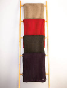 Ribbed Throw Blanket