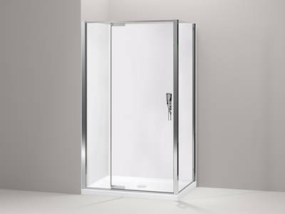 Torsion Hinge Square Shower