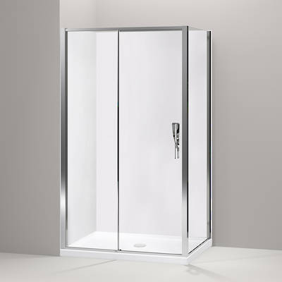 Torsion Square Sliding Shower