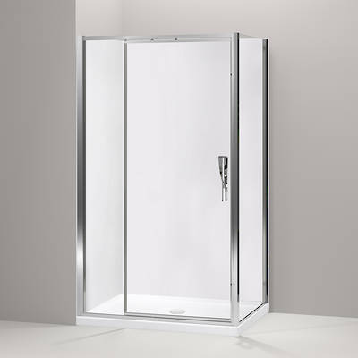 Torsion Inswing Square Shower