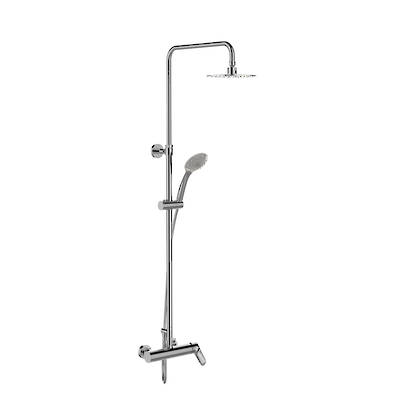 Aleo Dual Shower Column - Exposed Valve