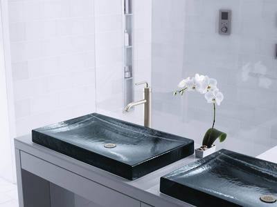 Antilia Wading Pool Glass Basin