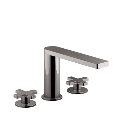 Composed 3TH Bath Set-Cross Handle Titanium