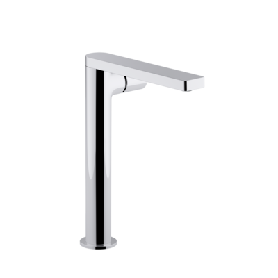 Composed Super Tall Basin Mixer Polished Chrome