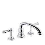 Artifacts 2-Handle Bath Set - Hob Mount