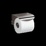 Avid Toilet Tissue Holder with Cover Titanium