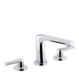Avid 3TH Bath Set Polished Chrome
