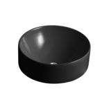 Chalice Black Vessel Basin