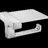 Strayt Horizontal Toilet Tissue Holder with Cover