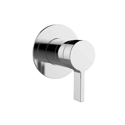 Components Shower/Bath Mixer with Diverter Thin Trim - Industrial Handle (excluding valve)