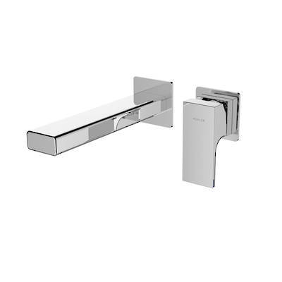 Strayt Wall Mount Basin or Bath Mixer