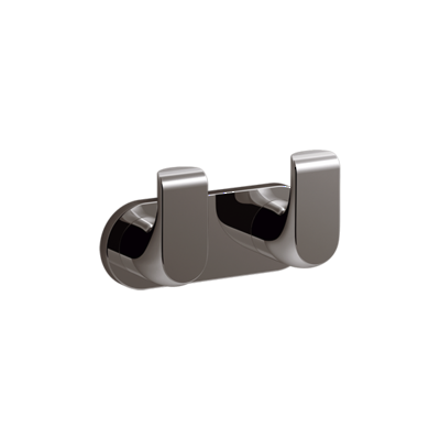 Avid Double Robe Hook Titanium