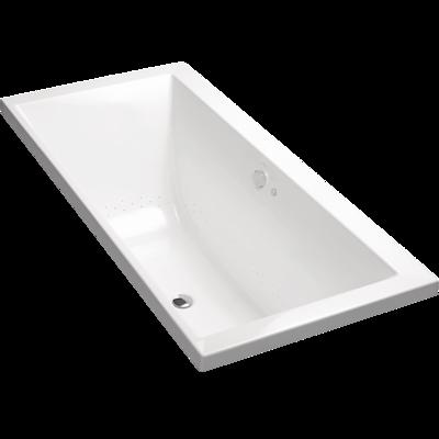 Evok Rectangular Drop-In BubbleMassage Bath
