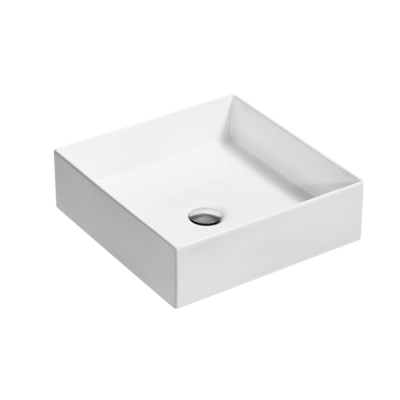 Mica Square Slim Basin - White or Black