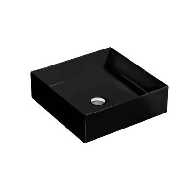 Mica Square Slim Basin - Black