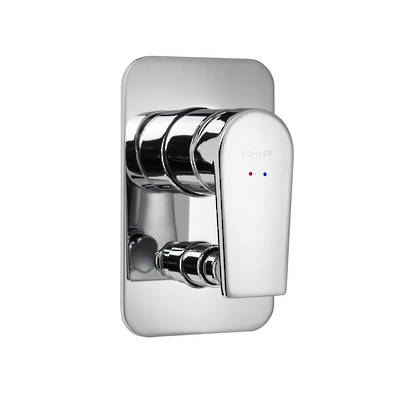 Taut Bath and Shower Mixer with Diverter