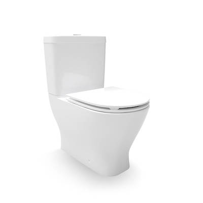 Reach II Rimless Back To Wall Toilet Suite