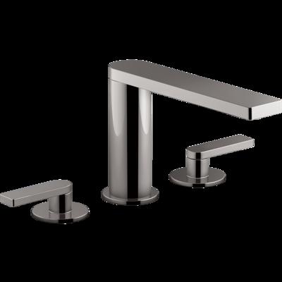 Composed 3TH Bath Set-Lever Handle Titanium Spare Parts