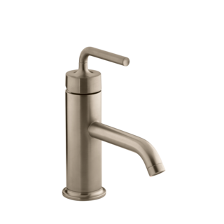 Purist Basin Mixer - PVD Vibrant Brushed Bronze