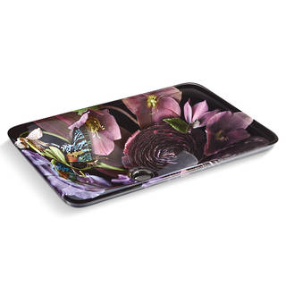 Dutchmaster in Midnight Floral on Carillon Rectangular Vessel
