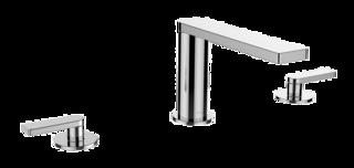 Composed 3TH Bath Set-Lever Handle Polished Chrome