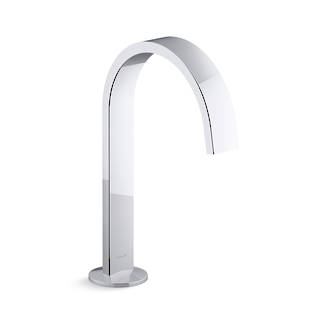 Components Basin Spout - Ribbon