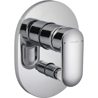 Kumin Bath and Shower Mixer with Diverter