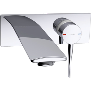 Stance Wall Mount Basin Mixer